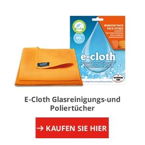 E-Cloth Glasreinigungs-und Poliertücher