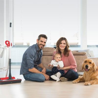 Polti Moppy lavapavimenti a vapore senza filo - proteggi l'ambiente e la famiglia