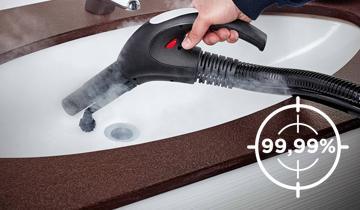 Vaporetto Lecoaspira FAV50 Multifloor - Ideale per pulizia bagno