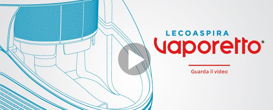 Aspirapolvere a vapore Vaporetto Lecoaspira Polti - guarda il video
