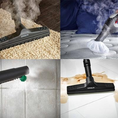 Aspirapolvere a vapore Vaporetto Lecoaspira Polti - adatto per tutte le superfici lavabili