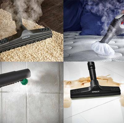Vaporetto lecoaspira pulitore a vapore e aspirapolvere polti - Vaporetto per piastrelle ...