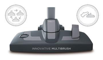 Unico MCV20 Allergy Multifloor - Accessori: spazzola multiuso