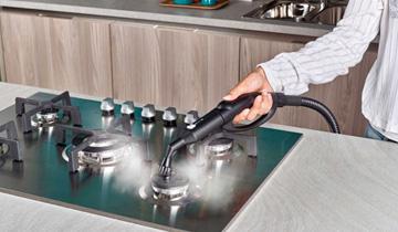 Concentratore di vapore e spazzolino Vaporetto