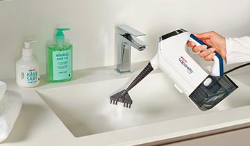 Polti Vaporetto 3 Clean_Blue: igienizzazione di tutte le superfici