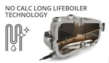 Ferro da stiro a vapore con caldaia La Vaporella XB60C - lunga vita alla caldaia senza manutenzione