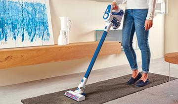Forzaspira SLIM SR90B_Plus - scopa elettrica leggera e maneggevole - pulizia tappeti