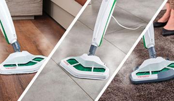 Scopa a vapore Vaporetto SV400 Hygiene - Per tutti i pavimenti