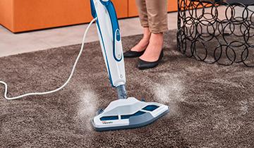 Scopa a vapore Polti Vaporetto SV460_Double: scopa a vapore per igienizzare i tappeti