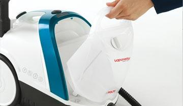 Vaporetto Smart 100_B pulizia senza interruzioni
