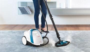 Vaporetto Smart 100_B efficace anche sui tappeti