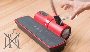 Lavapavimenti Polti Moppy Red - pulisce con acqua senza detergenti