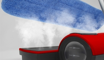 lavapavimenti polti moppy red - panno pavimenti e-cloth vapore