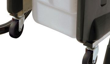 Mondial Vap 6000 - 4 ruote per elevata mobilità