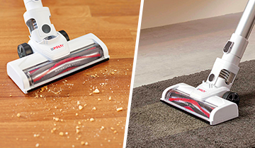 Polti Forzaspira SLIM SR90G - scopa elettrica ricaricabile 2 in 1 - per tutti i tipi di pavimento